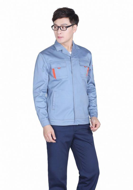 蓝灰+深裤