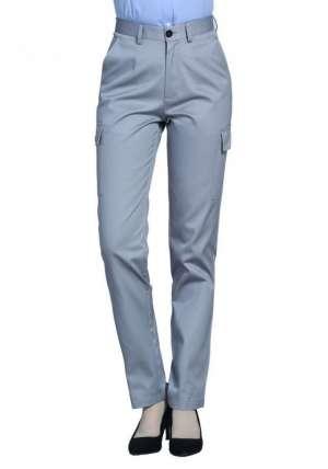 侧兜多袋工裤