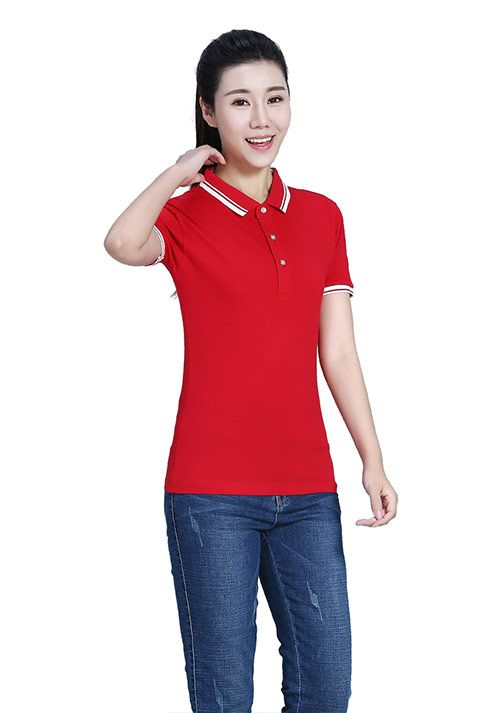 订做t恤衫选择红颜色的好看吗-
